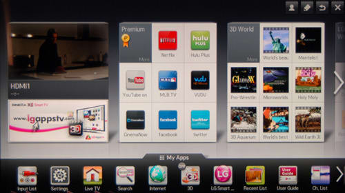 LG's 2012 Smart TV Platform: Explained - Reviewed Televisions