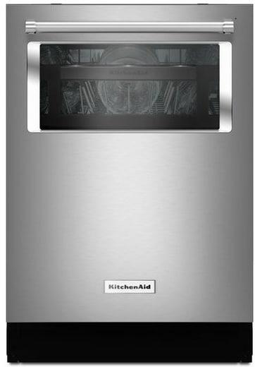 Manufacturer's render of the dishwasher's front