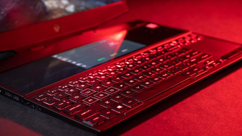 HP Omen X 2S Keyboard