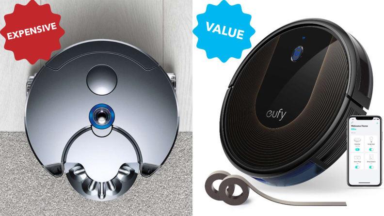 Smart robot vacuums