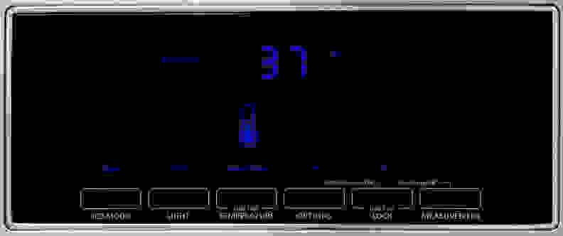 KitchenAid KFXS25RYMS Controls