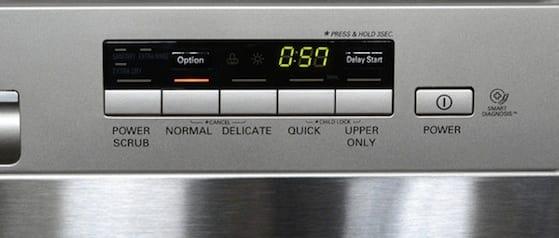 LG LDS5040ST controls