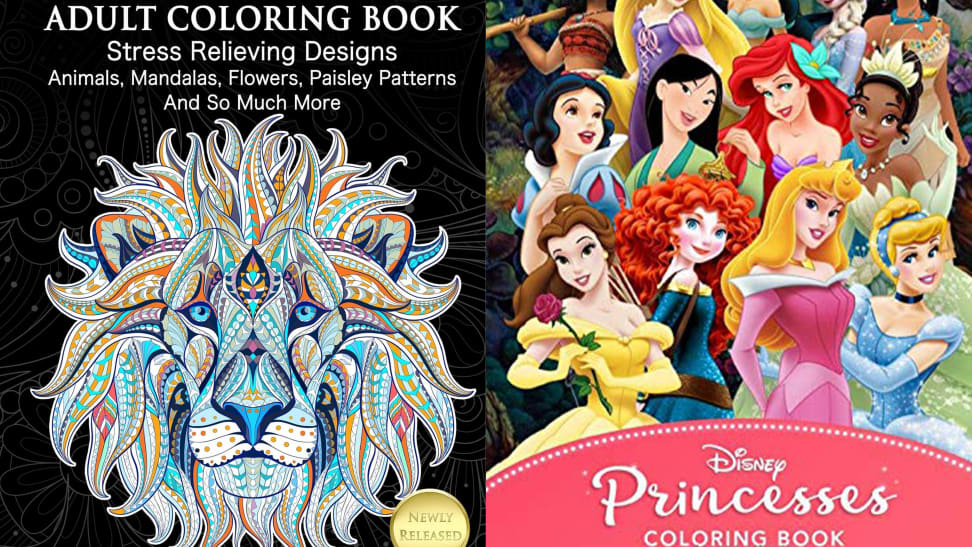 10 Best-selling Kids' And Adult Coloring Books For As Little As $4 -  Reviewed Lifestyle