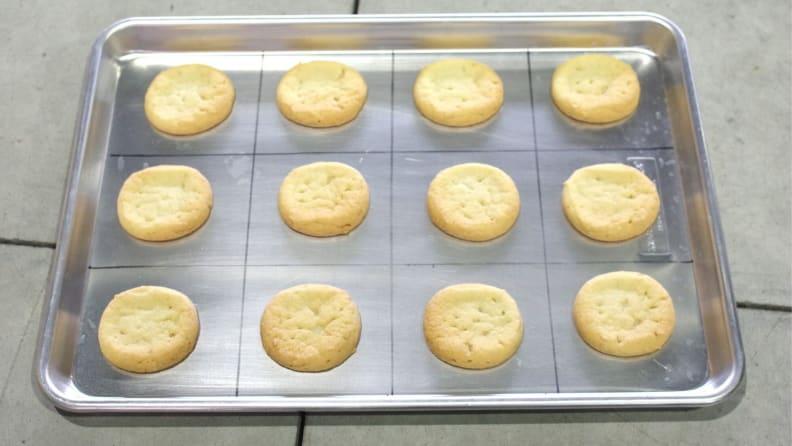 Induction Range Cookie Test