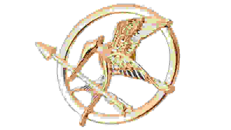 Angelia Hunger Games Mockingjay Pin