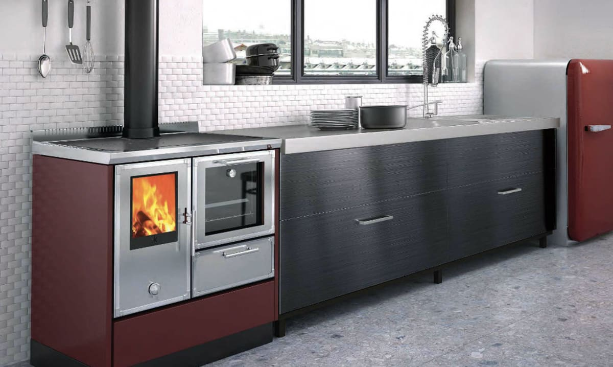 would you put a wood fired oven in your kitchen reviewedcom ovens - Wood Burning Kitchen Stove