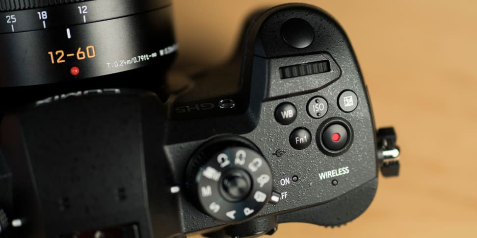 Panasonic Lumix GH5 Grip Buttons