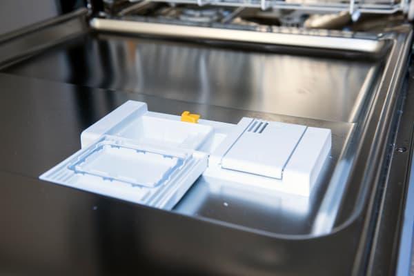 Miele Futura Dimension G5670SCVi detergent and rinse aid dispenser