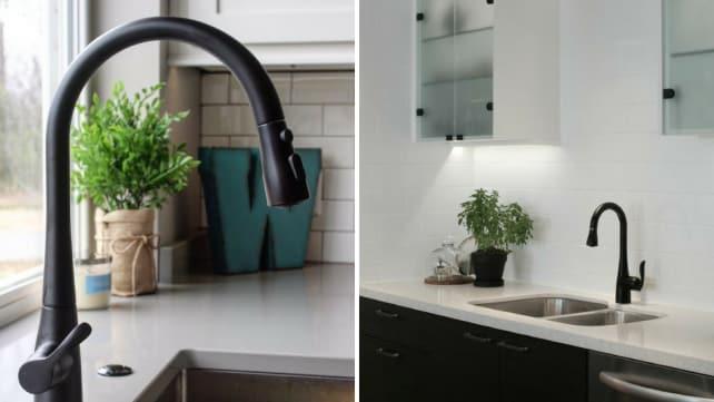 Kohler-faucets-black-matte