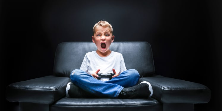Image result for kids addicted to videogames
