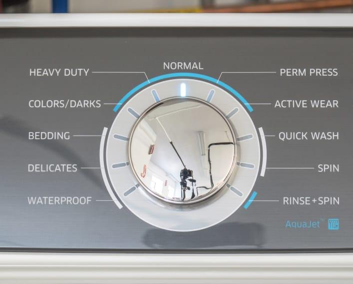 Samsung Washer Controls