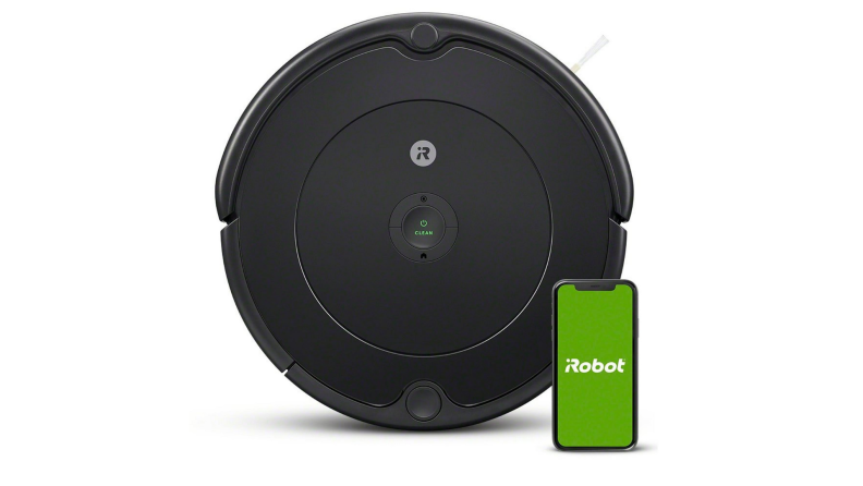 The iRobot Roomba 692 on a white background