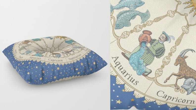 Vintage Astrology Pillow