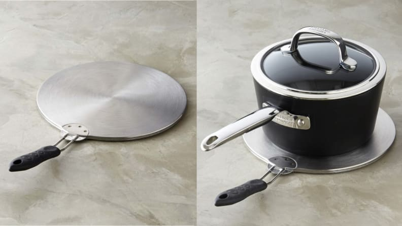Stainless steel disk for induction