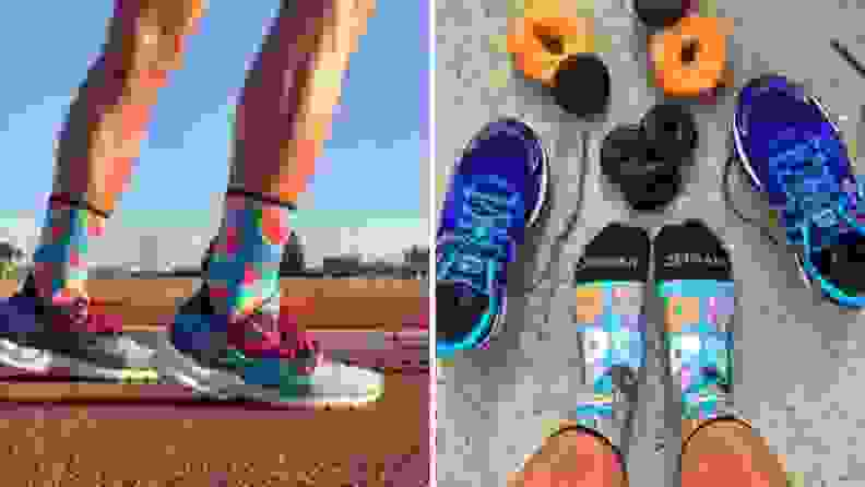 Zensah running socks