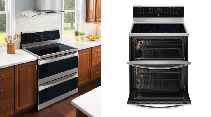 Kenmore Elite 97723 Double Oven Electric Range Review - Reviewed.com ...