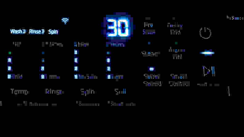 Samsung WF45R6300AV Clutter