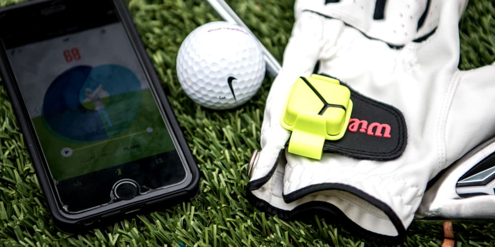 The Zepp Golf 3D swing analyzer