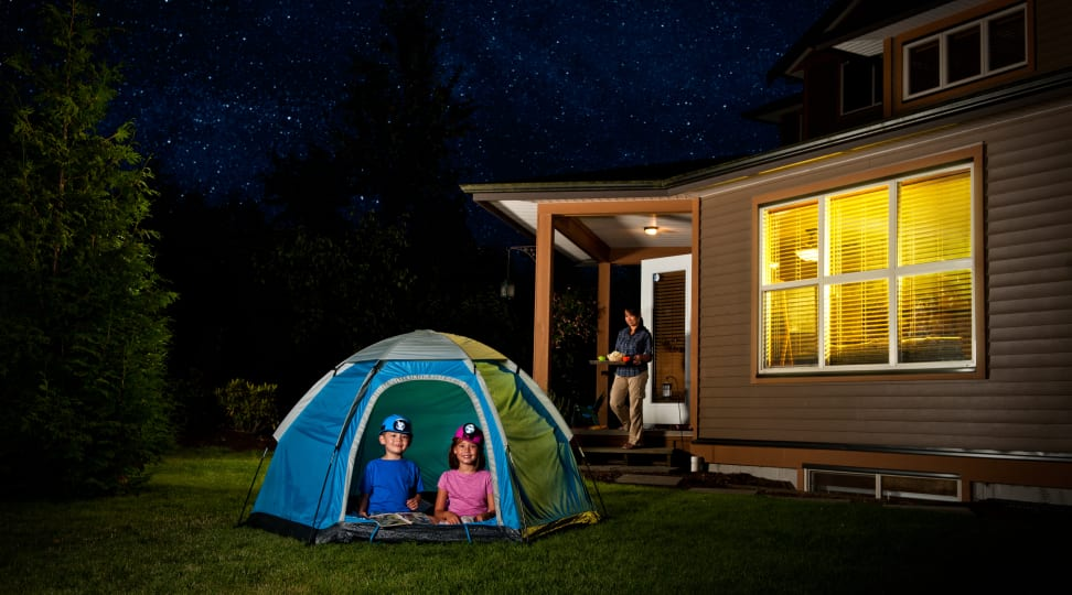 Backyard Camping Guide for the Kids