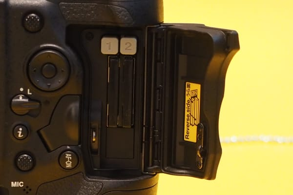 The Nikon D5 comes in two variants: one with dual CompactFlash card slots and one with dual XQD slots.