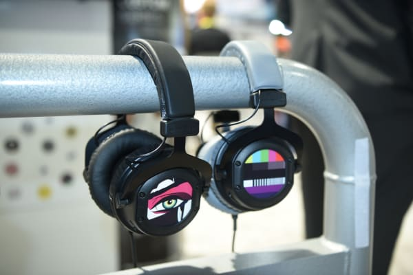 The range of available pictures will help you make these headphones your own.