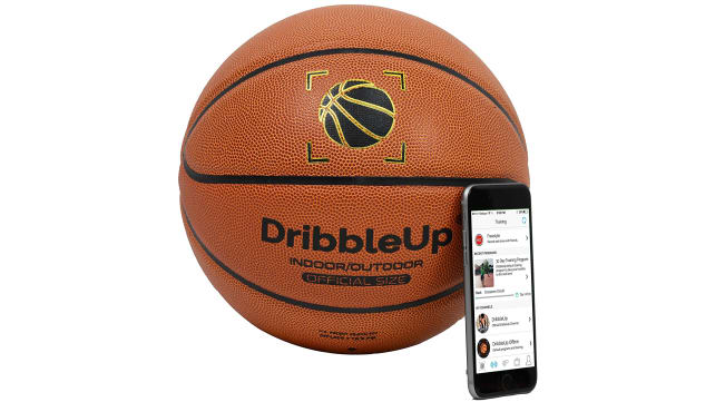DribbleUp Smart Basketball