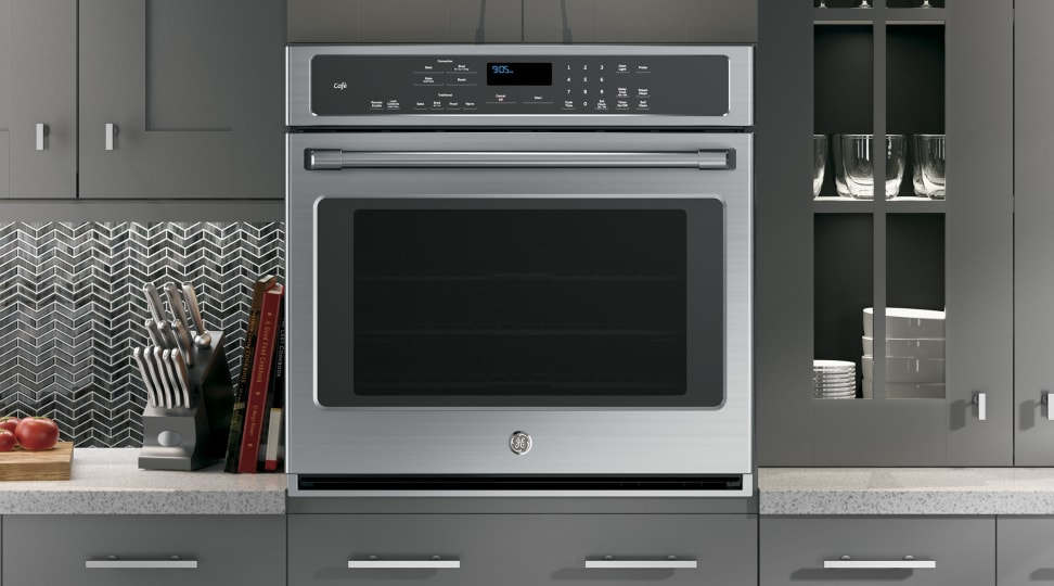 GE Cafe CT9050SHSS 30 Inch Electric Wall Oven