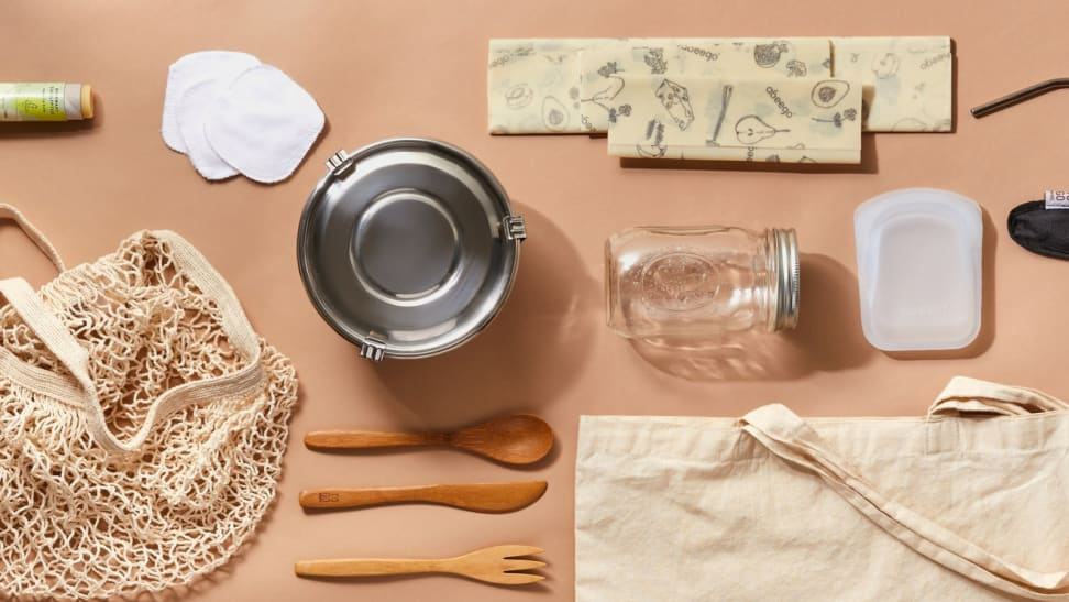 A collection of zero waste items