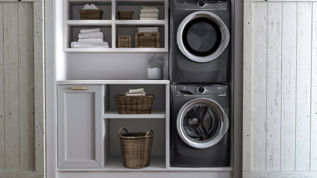 Stacked-washer-dryer
