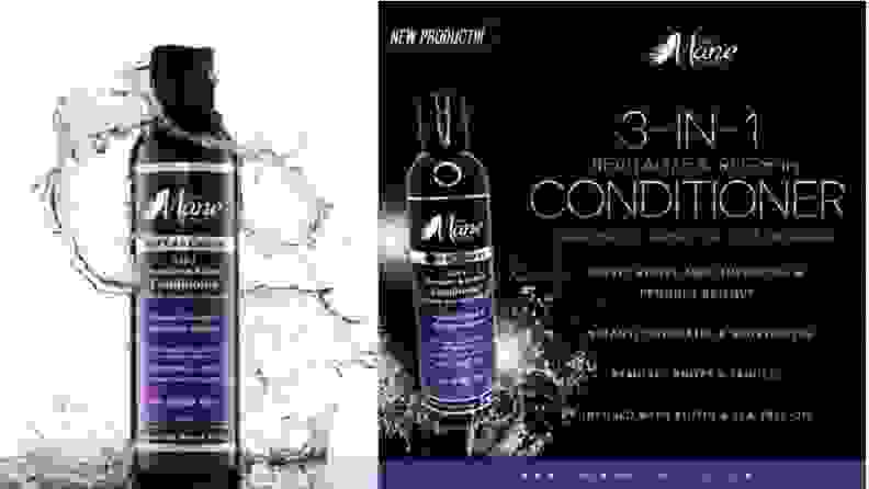 The Mane Choice conditioner claims
