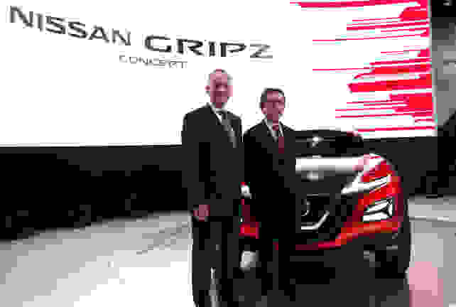 Nissan Gripz Concept With Willcox, Nakamura