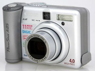 Product Image - Canon PowerShot A85
