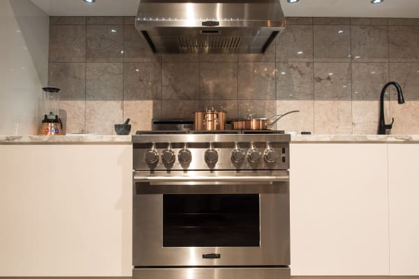 The UPSG3014ST was shown off in June Ambrose's kitchen design.