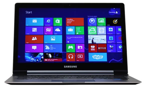 The 13.3-inch Samsung ATIV Book 9 Plus