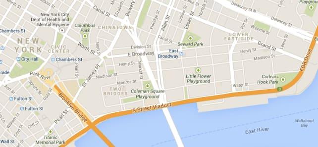 Google Maps NYC