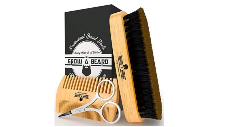 Grow A Beard Beard Brush Set