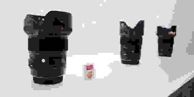 The 24mm f/1.4 DG HSM joins the 50mm f/1.4 and the 35mm f/1.4 primes in Sigma's new