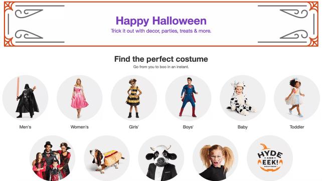 Target Halloween Shop