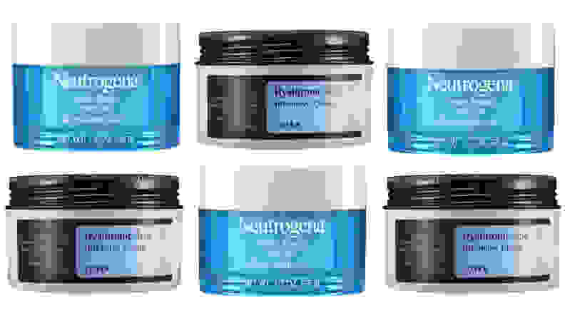 Hyaluronic acid skincare products