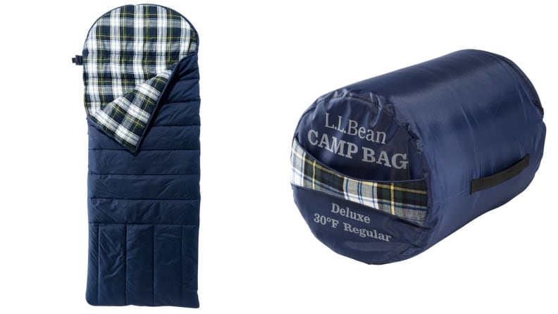 flannel sleeping bag