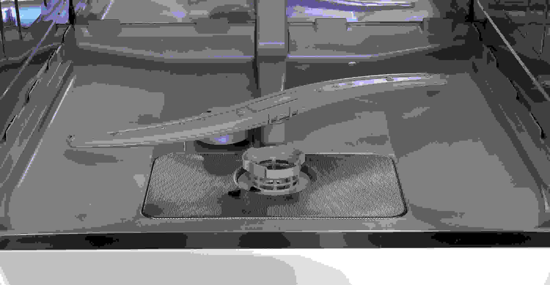 Bosch SHS5AV55UC bottom of the tub