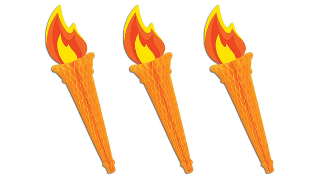 Beistle 3-Piece Tissue Torch