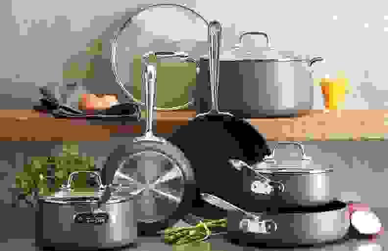 All-Clad nonstick pots