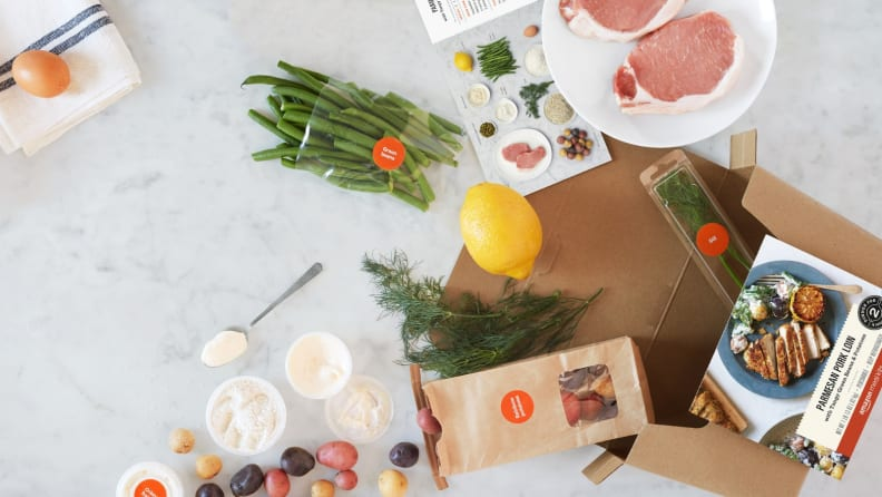 Amazon Meal Kit Box Open