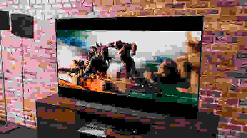 LG C1 OLED TV - Contrast/Black Level