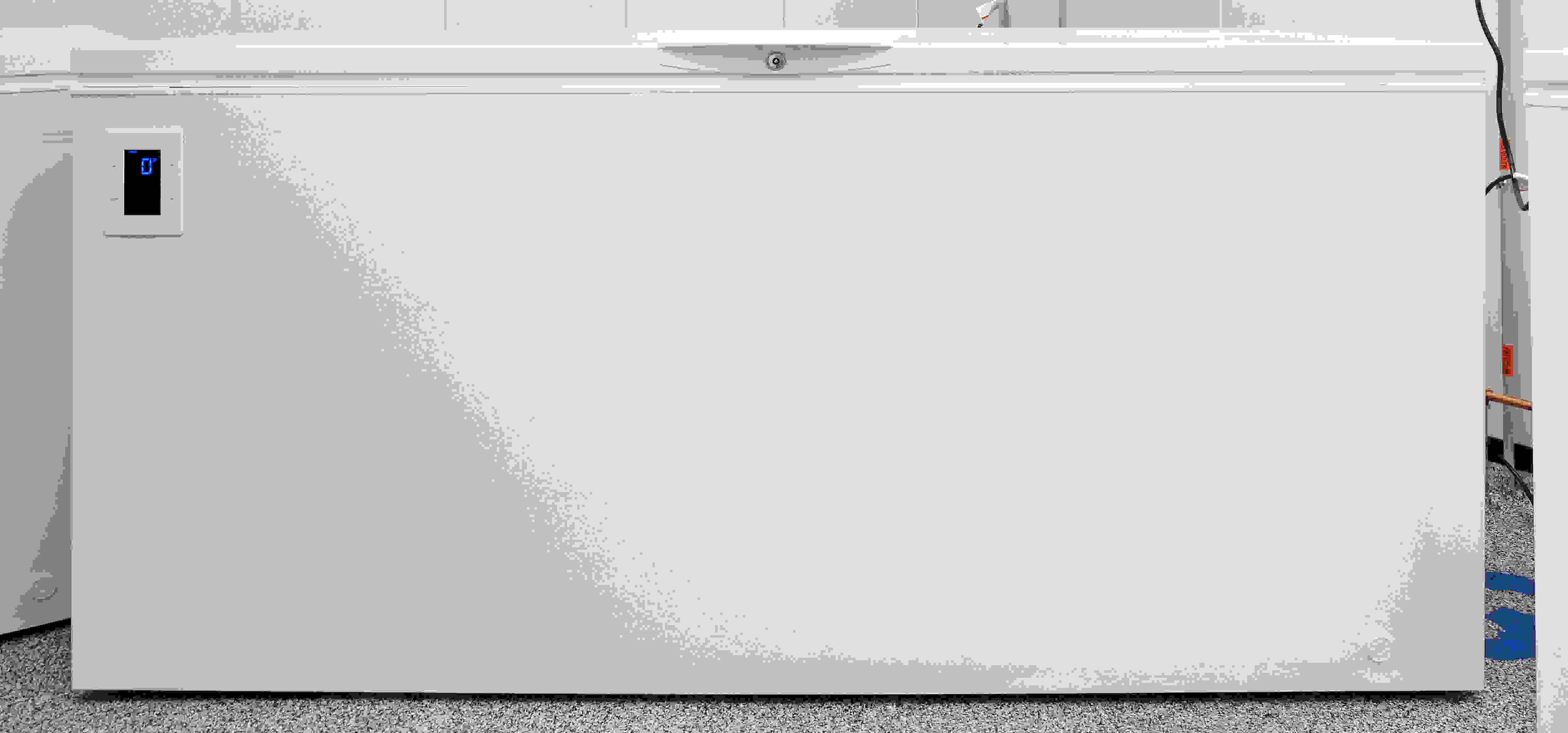 The comic opportunities for a freezer as large as the Kenmore Elite 17202 are endless.