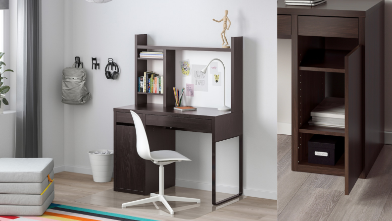Micke desk brown