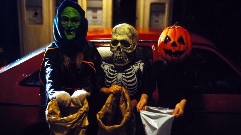 Silver Shamrock's Halloween masks are at the center of 'Halloween III.'