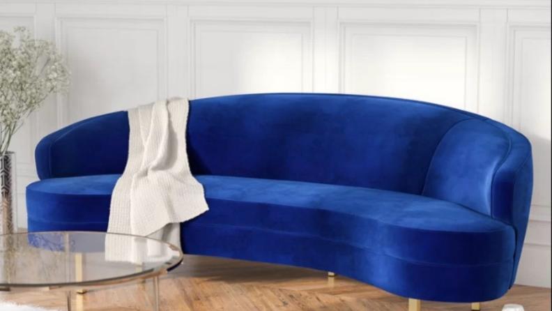 Curvy+Hewitt=Velvet-Sofa-AllModern