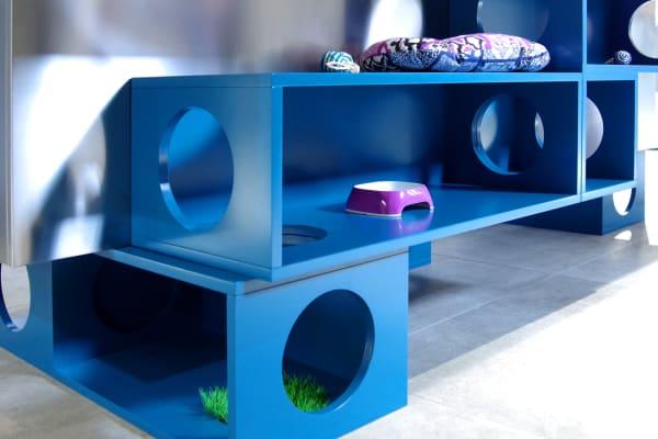 Mocaki Cat Kitchen Bed